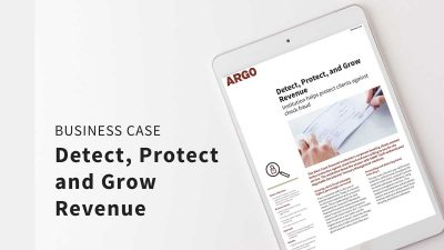 Detect, Protect, and Grow Revenue - Business Case