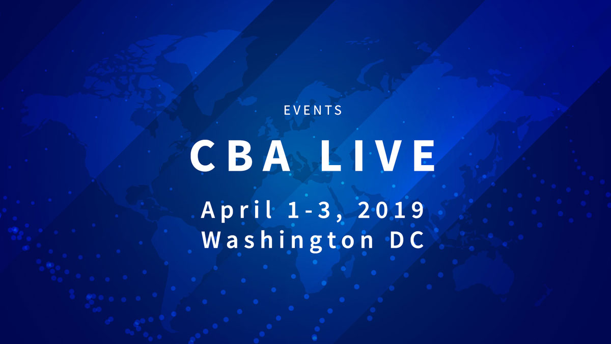 CBA Live - Events