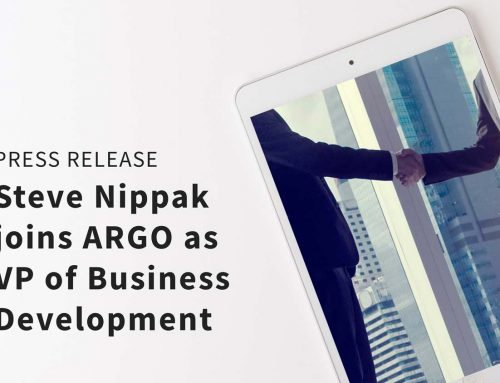 Steve Nippak Joins ARGO as Vice President of Business Development