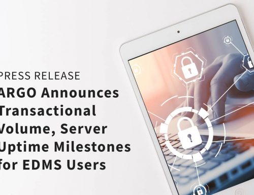 ARGO Announces Transactional Volume, Server Uptime Milestones for EDMS Users