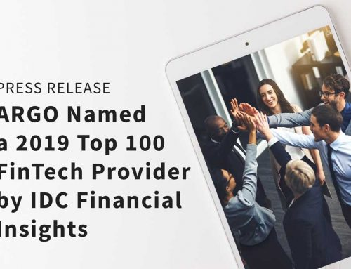 ARGO Named a 2019 Top 100 FinTech Provider