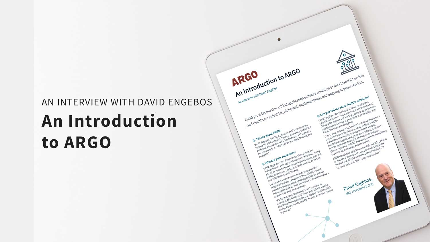 An introduction to ARGO